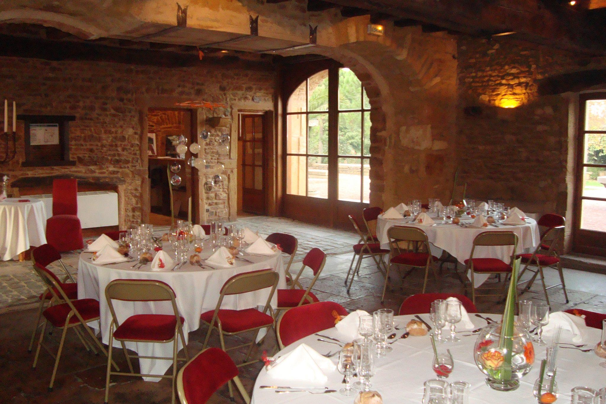 salle de mariage ambiance rustique