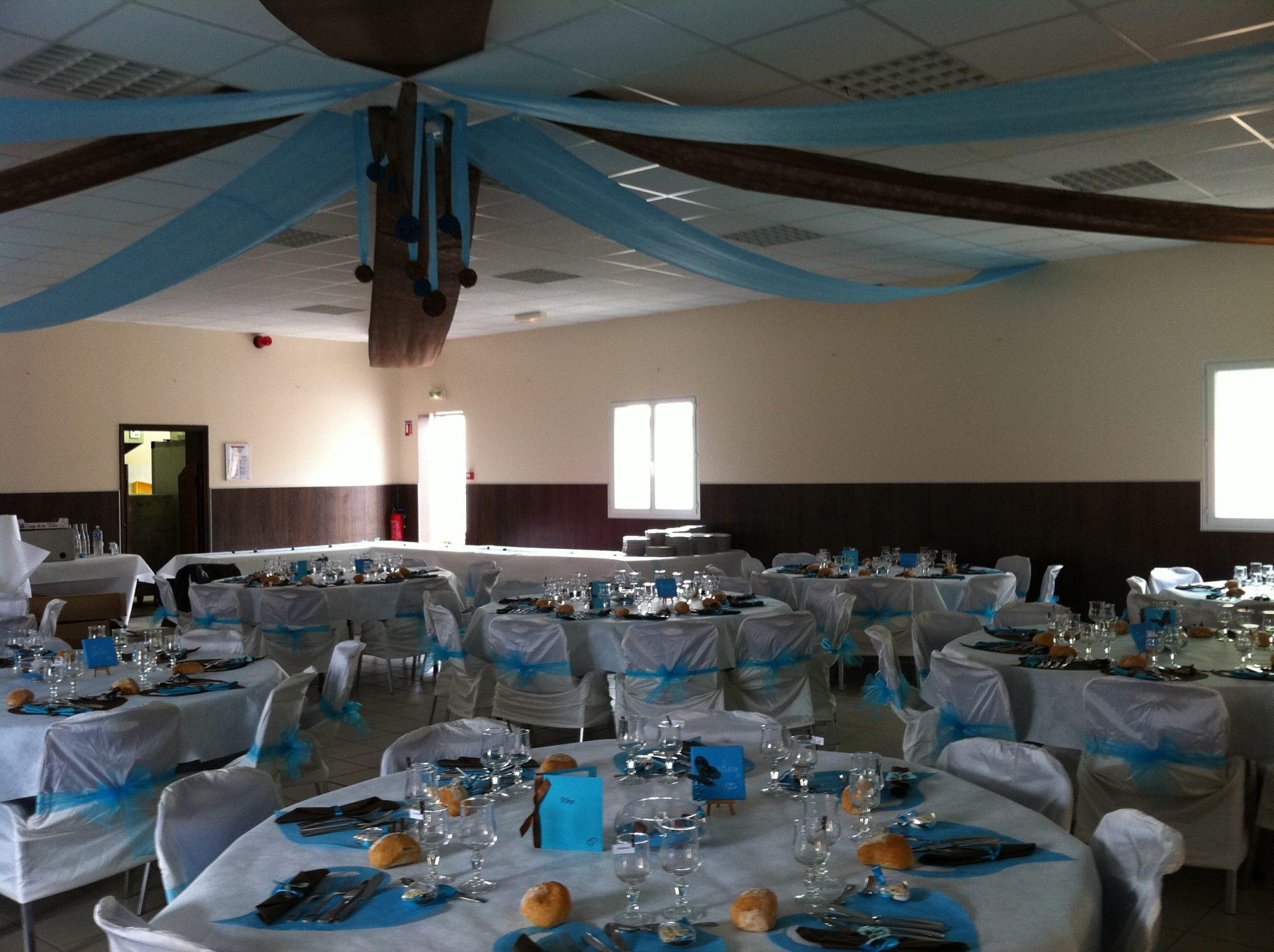 Salle de mariage : décorations