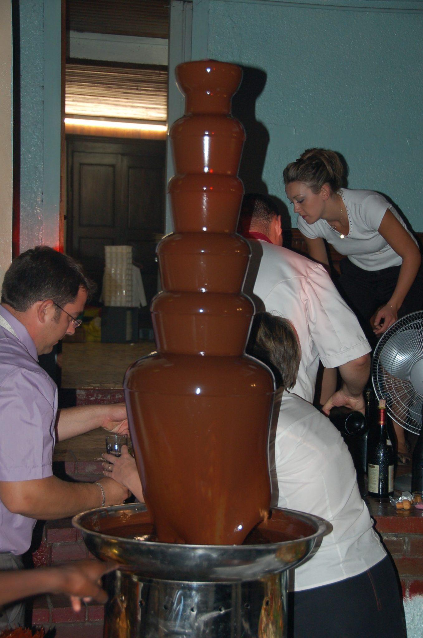 Louer fontaine chocolat lyon
