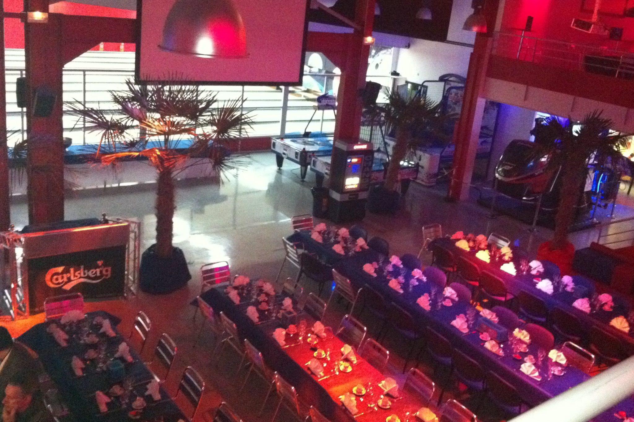 Des salles adaptées à votre diner de gala