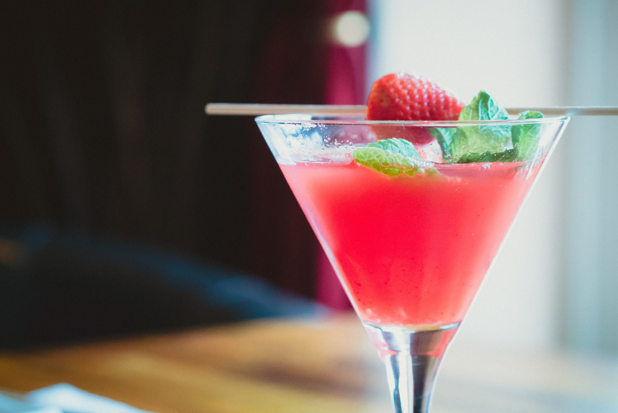Cocktail fraise
